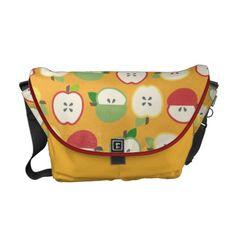 Apples Messenger Bag