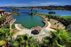 Loews Lake Las Vegas grounds!