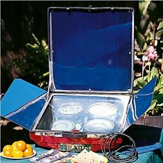 Amazon.com: Hybrid Solar Cooker Sun Oven Portable Cooker