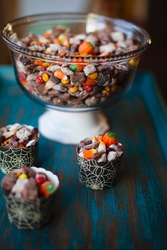 Halloween Puppy Chow with Nutella  » A Southern Fairytale