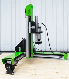 Grow: A portable, professional, expandable CNC router system