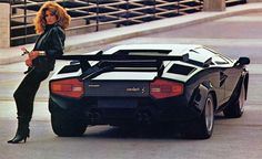 Any car-loving child of the '80s either owned, or had a friend who owned, a Countach poster on the wall.