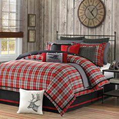 Woolrich 'Williamsport' Plaid 4-piece Comforter Set