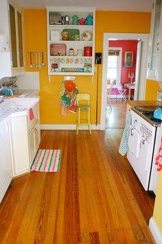 Colores intensos para la #cocina.