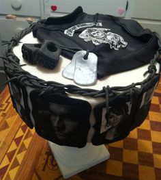 Sons of Anarchy cake - Cake inspired by Sons of Anarchy luv this want 1 4 my bday