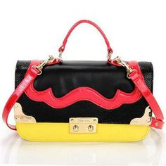 Miu Miu  gt  Top Handle  gt  Miu Miu 2012 Patent Leather Top Handle Bag cf76e8f2552d8
