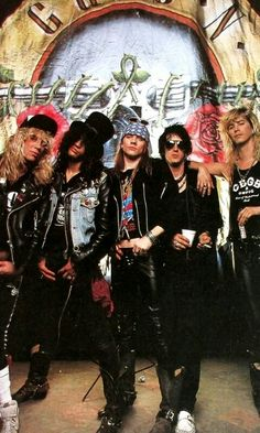 Guns and Roses !!!❤ Glorious 80's and 90's. Awesome- Then/Now/Forever ('s & 's) !!! Rock On!!!cf. #adicciones