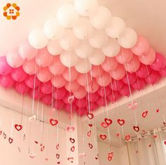 ~ Pin on Wishlist ~ 3 Colors Balloons Team Bride Latex Inflatable Balloon for Home Wedding Party Decoration Bachelorette Party Supplies Material: Latex Quantity: Size: Color:White,Pink.Rose Package:Only Ballons included Birthday Balloon Decorations, Balloon Decorations Party, Birthday Balloons, Wedding Decorations, Birthday Balloon Surprise, Room Decoration For Birthday, Office Party Decorations, Party Streamers, Valentines Day Decorations