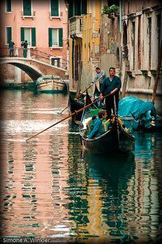 Gondoliere, Venice, province of Venezia , Veneto
