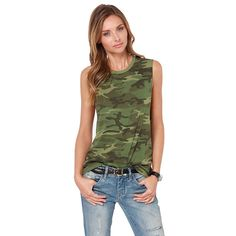 Amry Camouflage Slim T-shirt, Top Amry