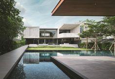La casa in marmo di Openbox in Thailandia - Elle Decor Italia