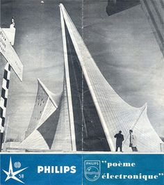 Xenakis famously worked as an architect with Le Corbusier on the Philips Pavilion for the Brussels world fair in 1958, before focusing his attention on musical composition.
