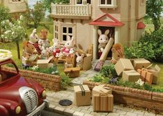 Sylvanian Families - Moving Day.