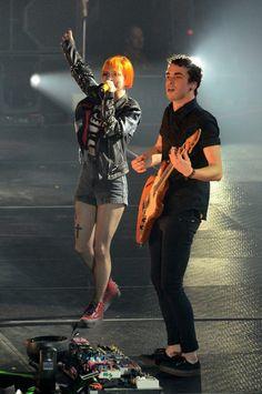 Paramore ~ Hayley Williams, Jeremy Davis and Taylor York
