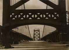 artnet Galleries: Delaware Bridge, Wilmington by Emil Otto Hoppé from Bruce Silverstein