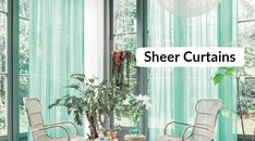 Refreshing window treatments with sheer curtain panels. If you are budget-minded then just come to the spiffy spools & grab the best deal. Decor, Renovations, Curtains, Home, Sheer Curtain Panels, White Sheer Curtains, White Sheer, Window Treatments, Paneling