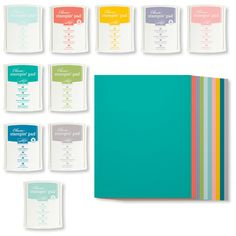 """8-1/2"""" x 11"""" Cardstock and Classic Stampin' Pad New Color Kit"""