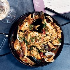 At her restaurant, Brasa, pork-loving chef Tamara Murphy makes her own chorizo for the excellent paella on her menu. As for the seafood in the dish, s...