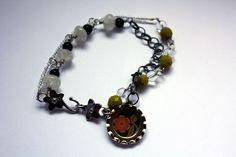 Night Blooms Bracelet by CraftyHope