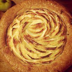 Rustic apple tart from Portos Bakery