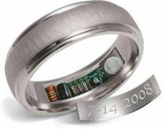 20 Nerdy Wedding Rings - From Fingerprint Wedding Bands to Relationship Status Rings (CLUSTER) heats up before anniversity date