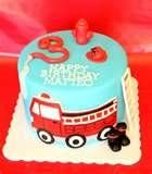Image detail for -Fire Truck Cake