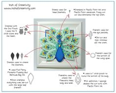 Inch of Creativity: It's Peacock Day! How to Chart to recreate the peacock.