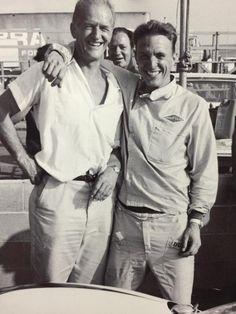 Dan Gurney and his dad