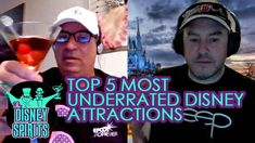 The Disney Sprits Podcast - Top 5 most UNDERRATED attractions