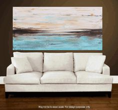 """PAINTING original 48"""" Painting abstract painting  Original landscape  painting  wall art from jolina anthony fast and free shipping"""