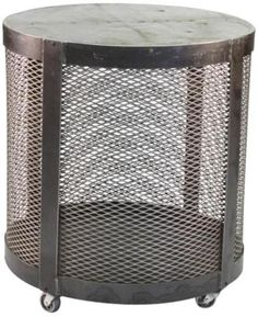 Side Table JENNY Cold Rolled Steel Galvanized Tin New ZT-49