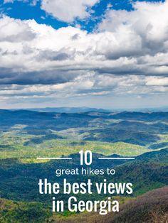 Hike these 10 Great Georgia hikes to Georgia's best views