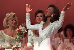 Debbye Turner: Miss America 1990 Missouri's only Miss America and only black Miss Missouri come on Missouri !