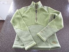 The North Face TKA 200 1/2 Zip pull over sweater fleece Jacket ,womens size M, #TheNorthFace #12Zip