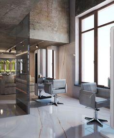 Дизайн салона красоты batenin.com