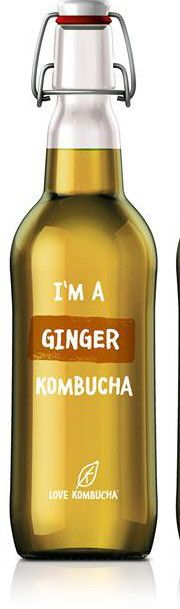 I'm a ginger Kombucha Kombucha Culture, Carbonated Soft Drinks, Organic Kombucha, Amino Acids, Our Body, Blueberry, Mango, Easy Meals, Lime