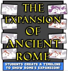The Expansion of the Roman Republic! Timelining the growth of Ancient Rome!