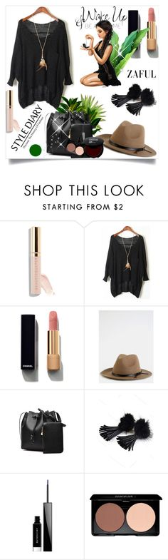 """""""Zaful 1/2"""" by erina-salkic ❤ liked on Polyvore featuring Beautycounter, Chanel, WALL and Givenchy"""