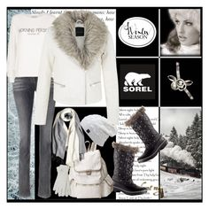 """""""Introducing the 2015 Winter Collection from SOREL: Contest Entry"""" by lovee39 ❤ liked on Polyvore featuring SOREL, Wildfox, LeSportsac and M&Co"""