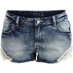 Vila Vipicture - Denim Shorts