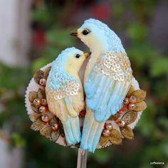 Броши - птички в интернет-магазине Coffeelena (Елена) на Ярмарке Мастеров
