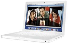 "Apple MacBook MB061LL/A 13.3"" Notebook PC (2.0 GHz Intel Core 2 Duo Processor, 1 GB RAM, 80 GB Hard Drive, Combo Drive) White Apple,http://www.amazon.com/dp/B000L48Z02/ref=cm_sw_r_pi_dp_vf9xtb0CYWWBVKVP"