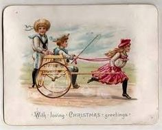 Bizarre and Creepy Vintage Christmas Cards | artists who inspire ...