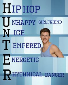 Hunter from The Next Step