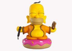 THE SIMPSONS x KIDROBOT – Homer Buddha Toy