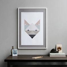 Poster Fox Paintings and prints (Silke Bonde)