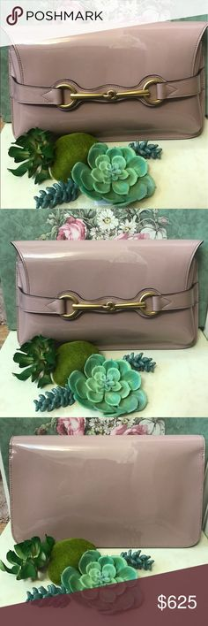 f51939f8e1 Authentic Gucci horsebit clutch As much as I love this clutch