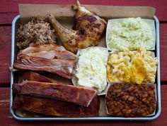 For barbecue made the old-fashioned way, head to this new barbecue joint in North Carolina