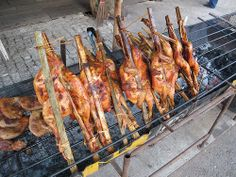 Barbecue Chicken #Thai style My Favorite Food, Favorite Recipes, Thai Street Food, Barbecue Chicken, Thai Style, Thai Recipes, Thai Decor, Thai Food Recipes