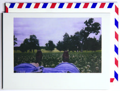 Take a second on Andrew Jackson's lawn to have a little dream.  Polaroid shot in Nashville, USA. Each notecard is 3.5 x 4.9, printed on crisp, white 14 pt. stock and tucked into a nostalgic airmail envelope.